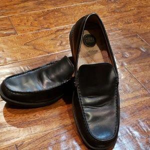 Croft & Barrow mens Black dress loafers 8.5M